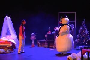 Lilou et le bonhomme de neige